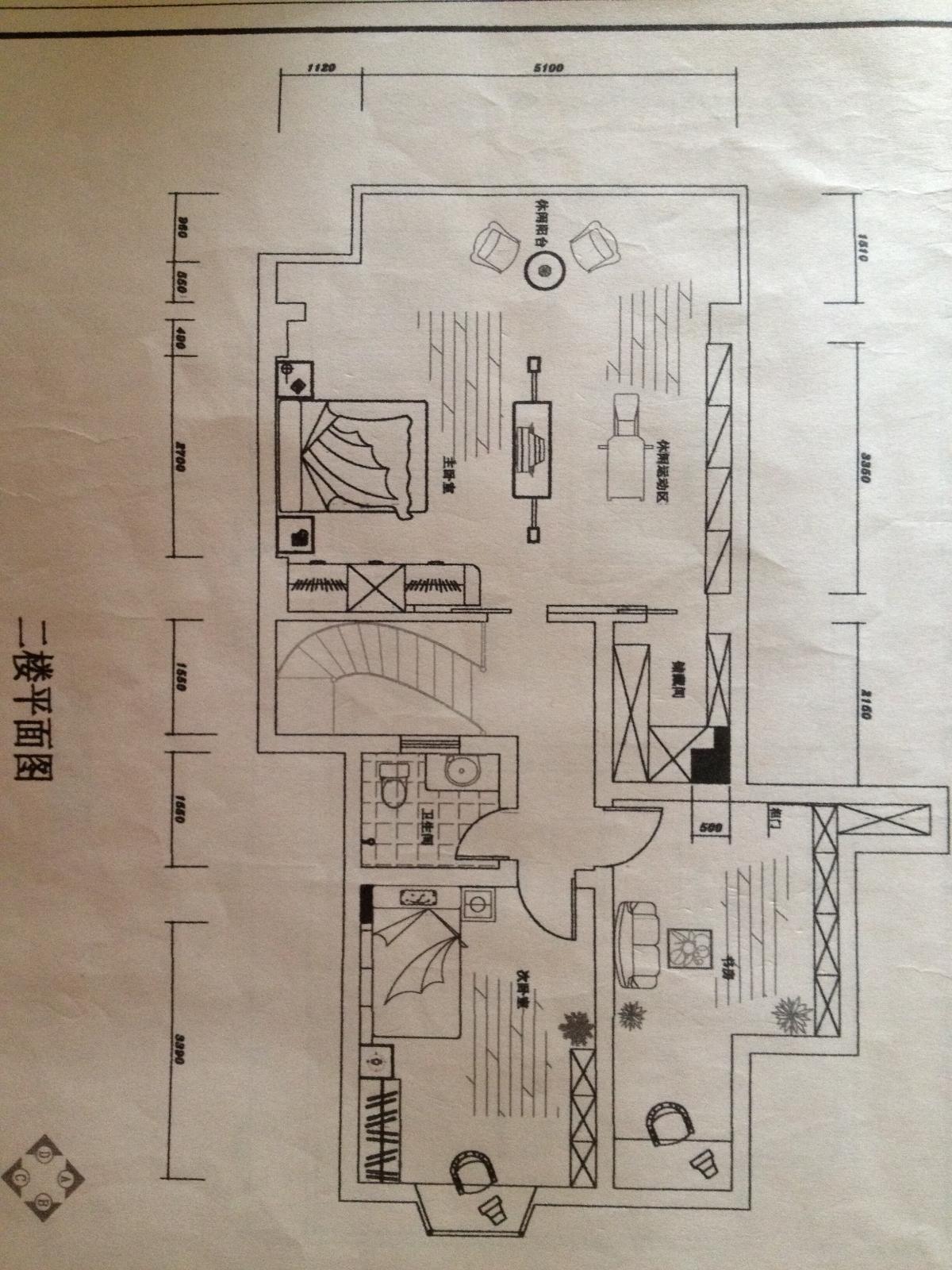 80平米复式楼设计图展示图片