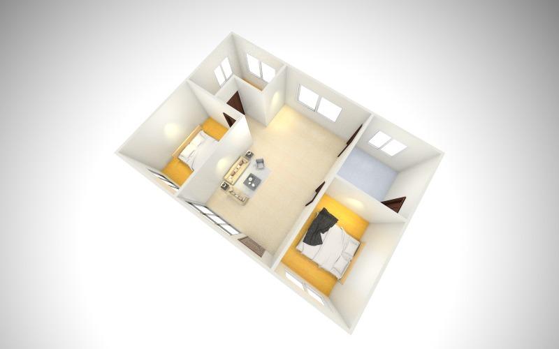農村平房室內設計圖_農村平房室內設計圖畫法