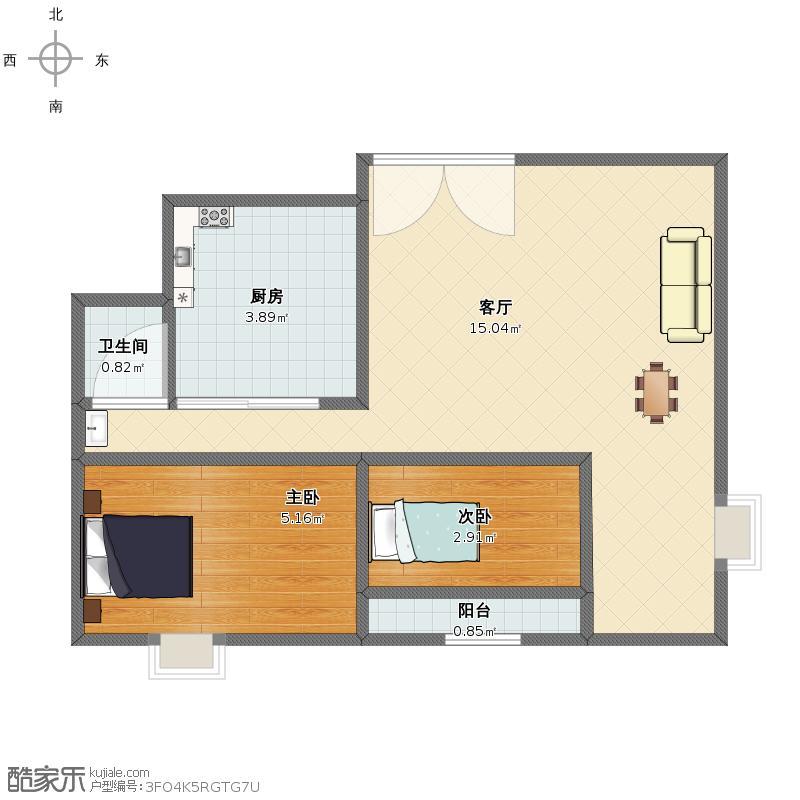 75平方米房子准备装修