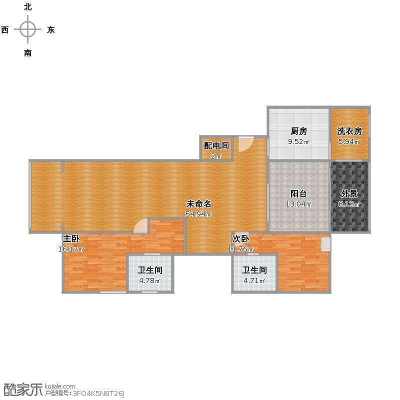 康桥半岛国际公寓c套户型图大全