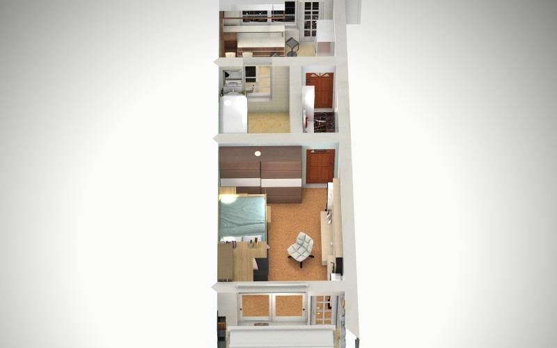 家具俯视图素材下载