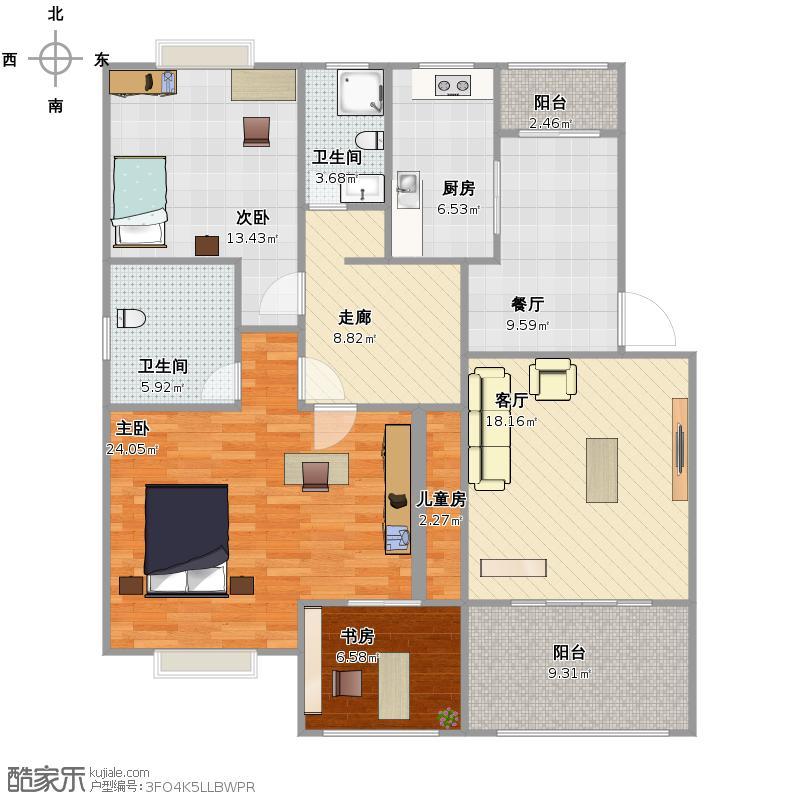 55平方米房子设计图