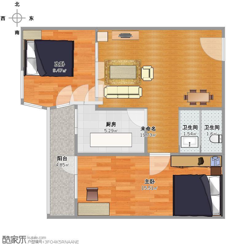 塔楼二室一厅户型图大全,装修户型图,户型图分析,户型