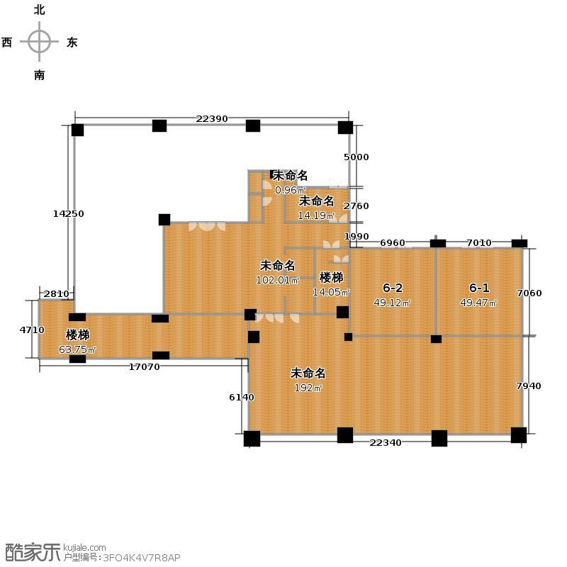 复制的方案_6幢一层商铺平面图户型图大全,装修户型图
