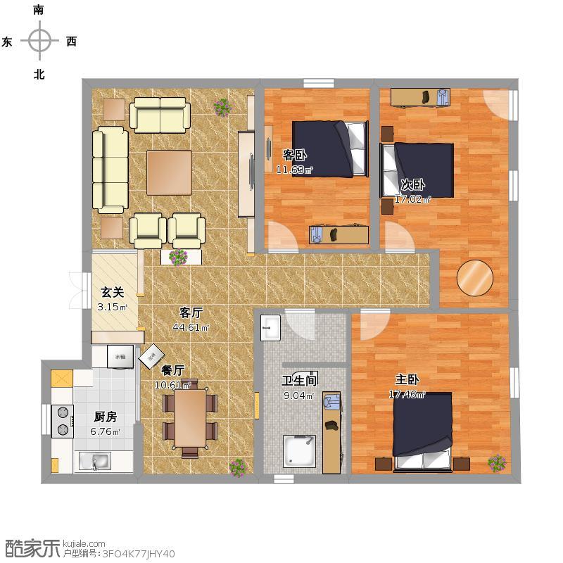 小户型自建房设计图展示