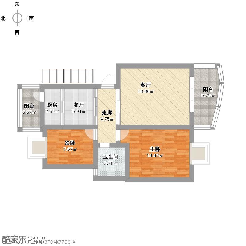 李涛设计老年公寓平面图