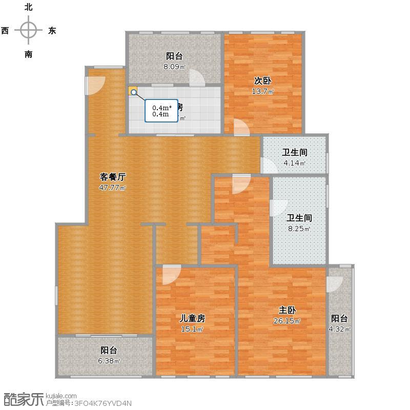 西郊半岛3房145 改后户型图.jpg