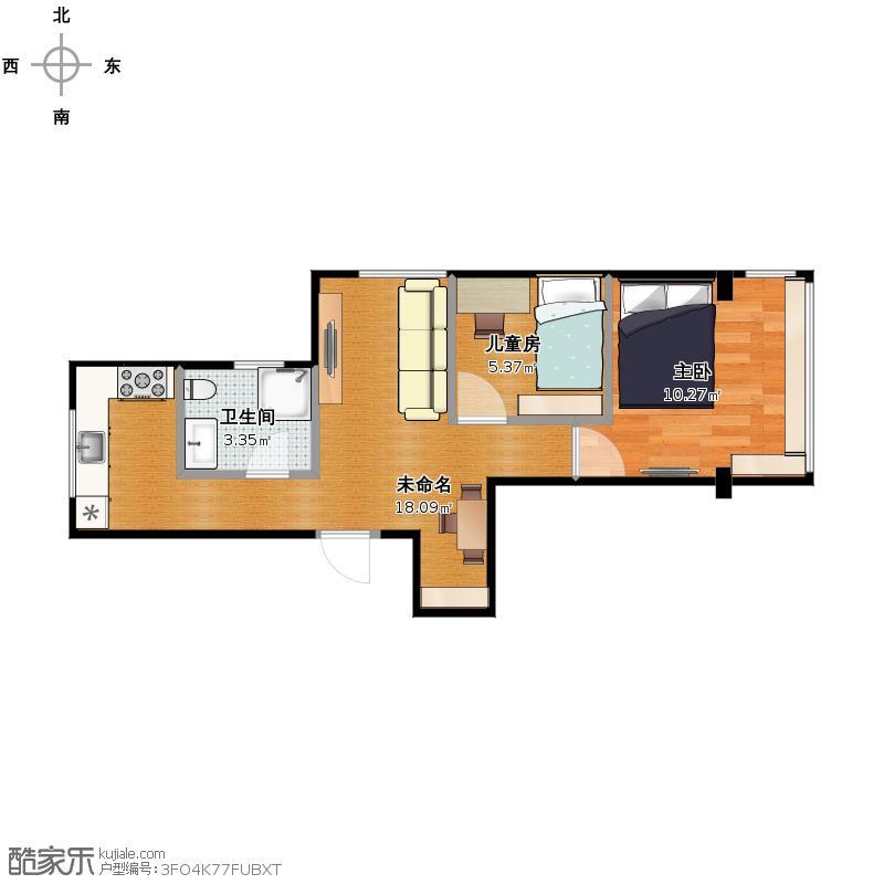 复制的方案_一室一厅改两房户型图大全,装修户型图,图图片