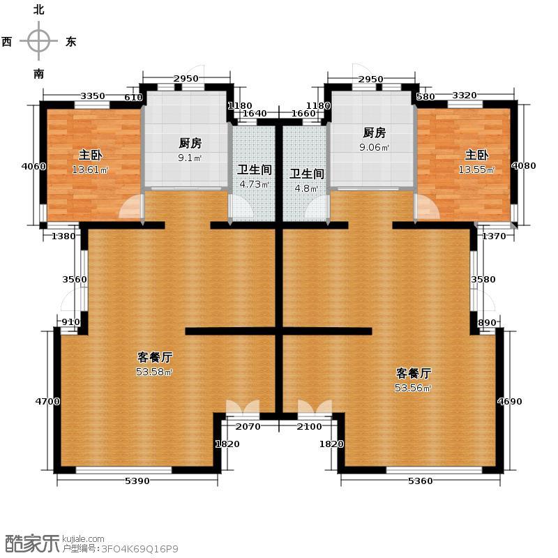 户型设计 富力湾半岛别墅334.