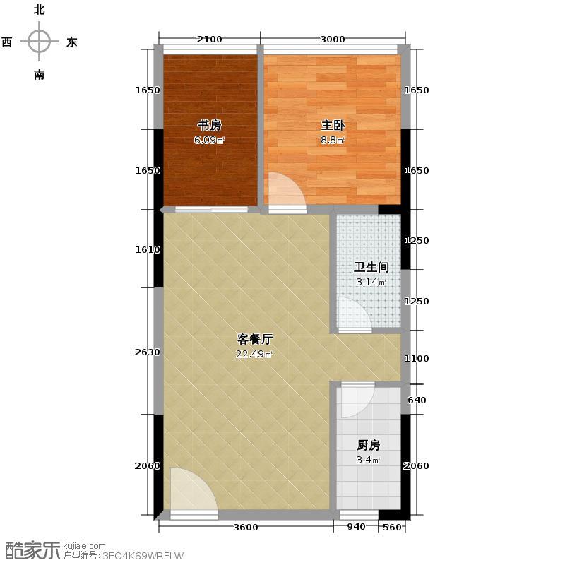 出租房单间平面图