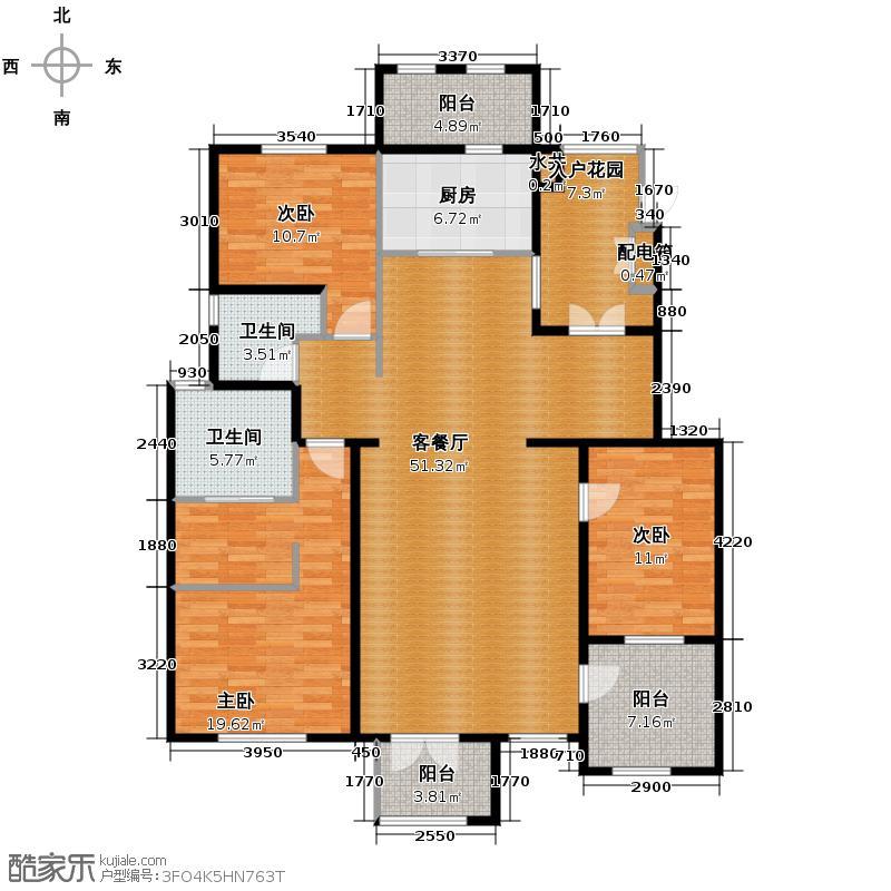 万通生态城新新家园户型图(2/9张)