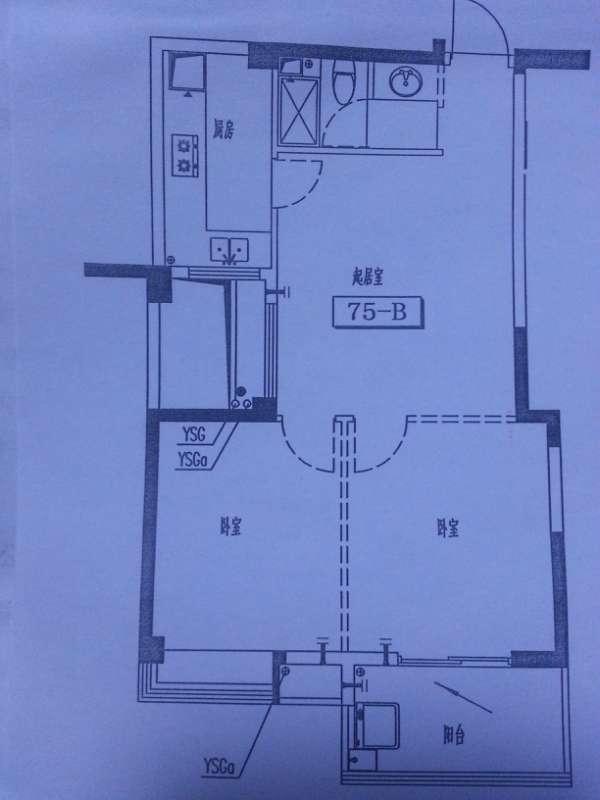 75平方房子如何设计三房3厕所,神一般的网友考验你们的时刻到了!