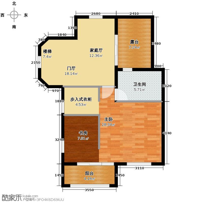 02㎡别墅产品三层平面图户型10室