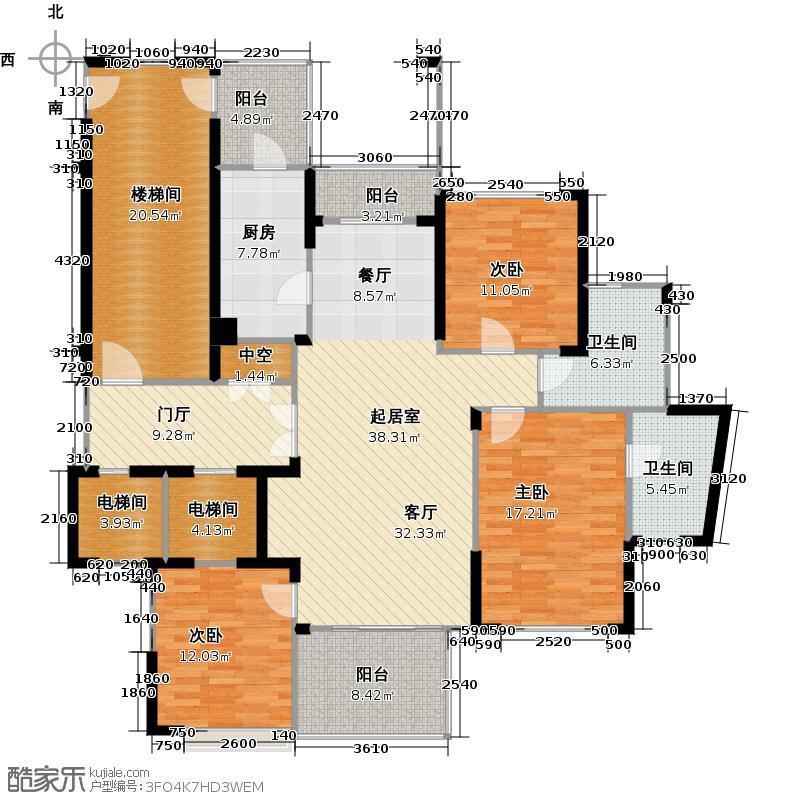 中大杭州西郊半岛141.00㎡f户型10室