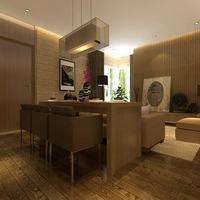 现代风格别墅餐厅装修效果图,现代风格餐桌椅图片
