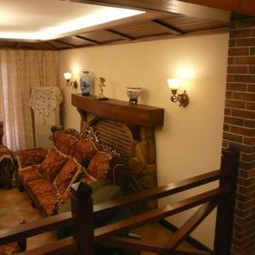 红砖老墙 木栏杆&美式经典乡村别墅演绎沉稳大气的风范图片