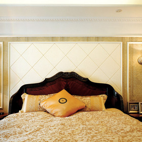 复古并添宫廷风,玄关风景更精彩,美式家装,不一样的视角盛宴图片