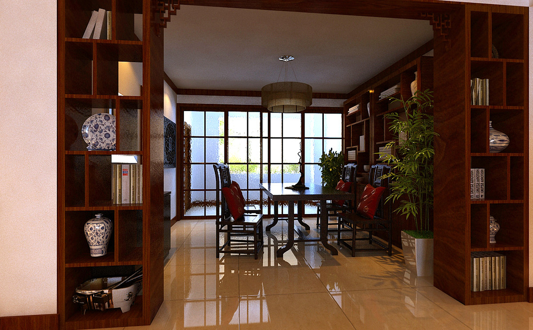 478 张中式书房装修效果图图片