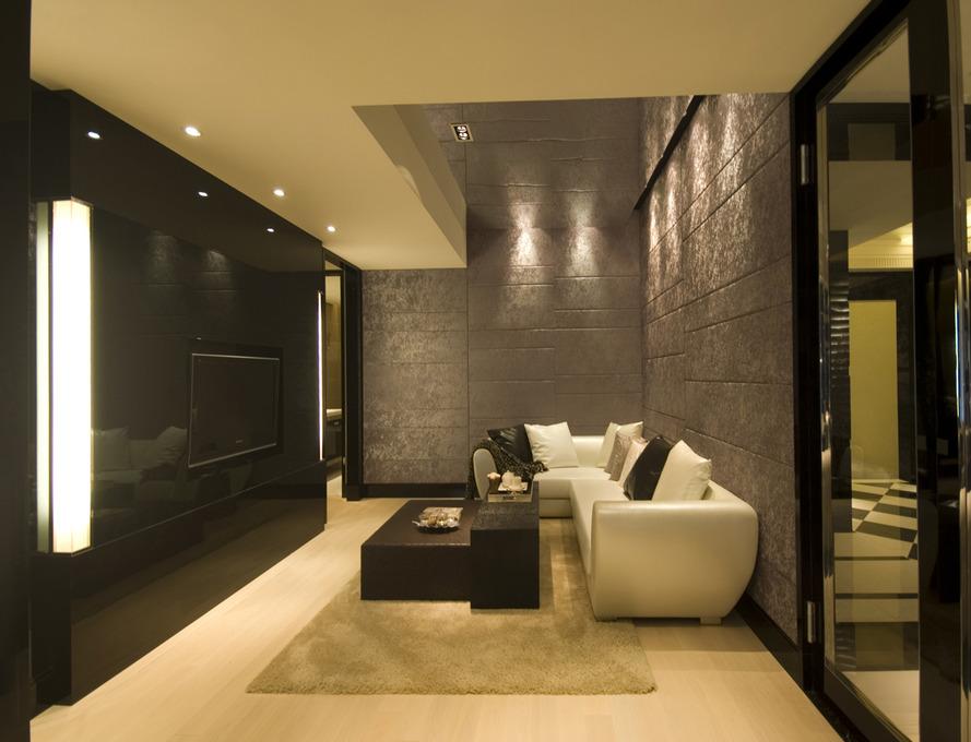 7717 张客厅背景墙 电视背景墙 装修效果图
