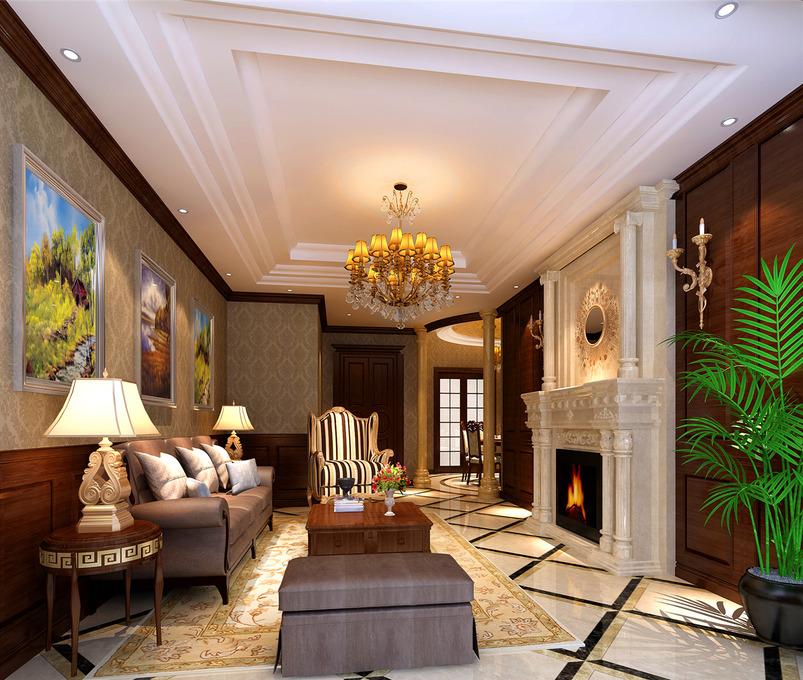 7795 张美式家具 装修效果图图片