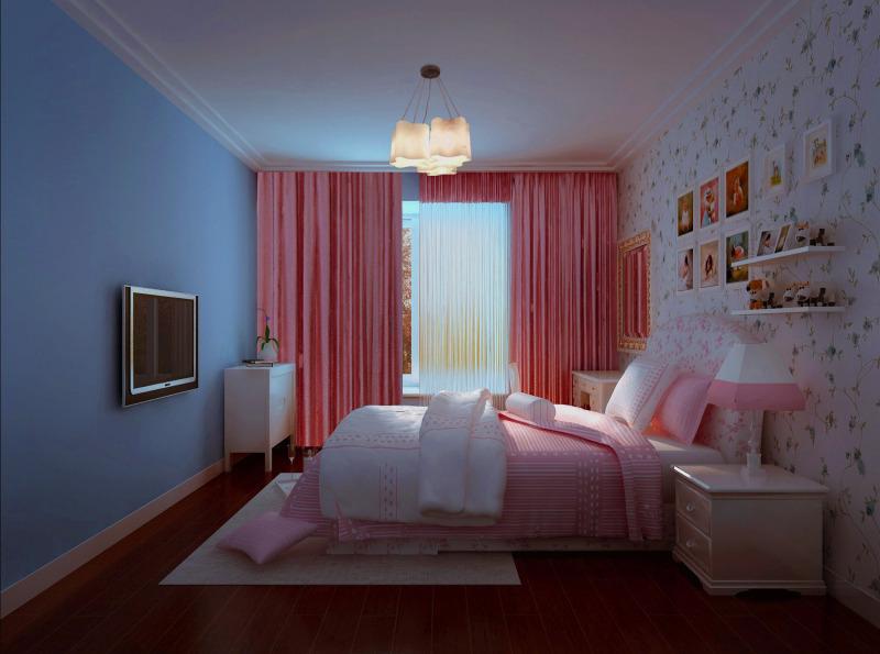 美式室内走廊吊顶图欣赏 设计本装修效果图图片