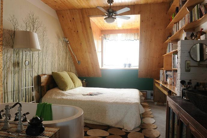 室内装修设计巴黎铁塔壁纸