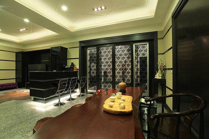 561平豪华透天别墅客厅装修效果图