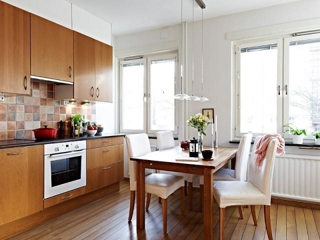 自然北欧风89平原木复式公寓图片