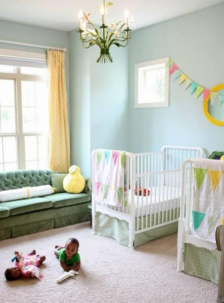 最新婴儿房装修效果图大全