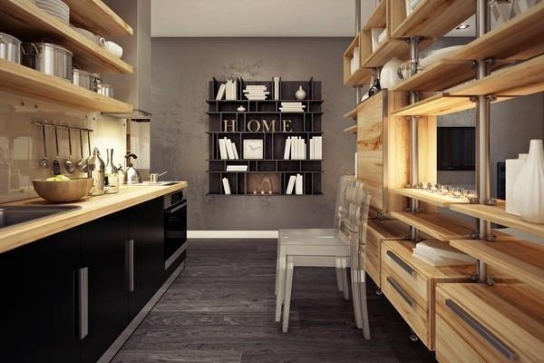 混搭风格二层别墅设计效果图