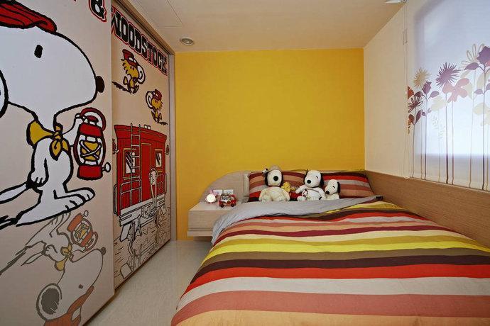 346平方米别墅简约风格卧室衣柜装修效果图