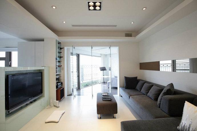 12w装80平两室一厅简欧风格.图片