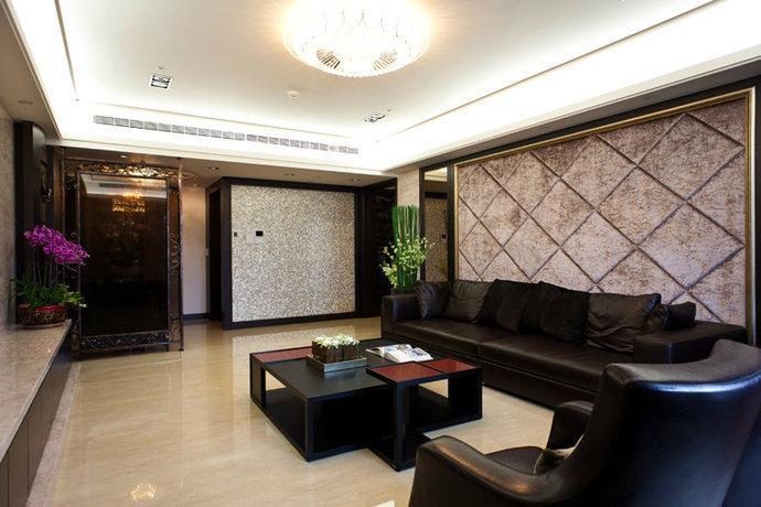 165平米三居室現代簡約風格裝修效果圖
