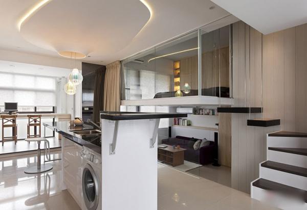 创意家居小公寓设计,教你小空间灵活运用!图片