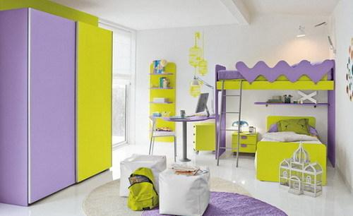可爱的儿童房装修设计案例