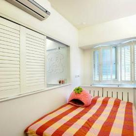 39平方米地中海单身公寓卧室装修效果图