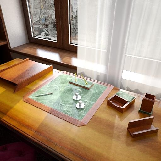 阳光窗台矢量图