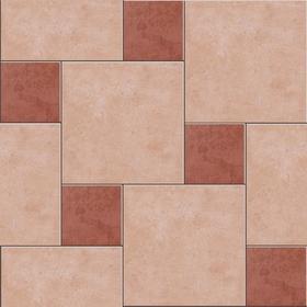 对于墙地砖的运用,审美常以无瑕,统一,机械整齐为佳,设计则常以一致
