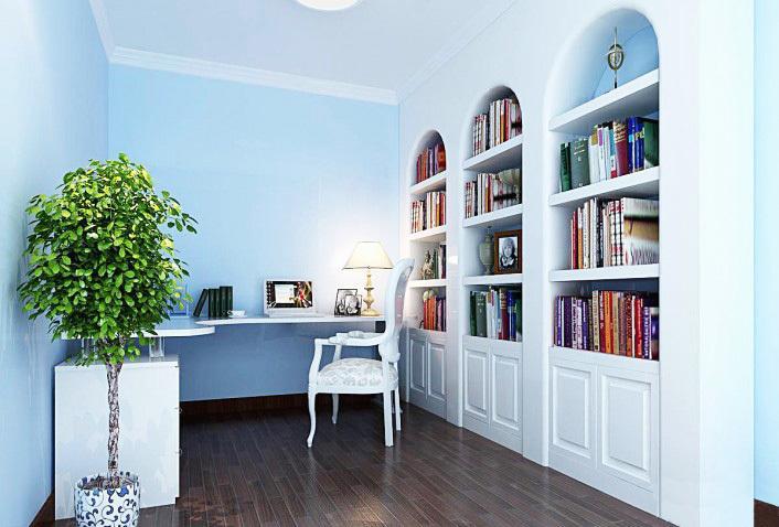 浪漫地中海风格书房