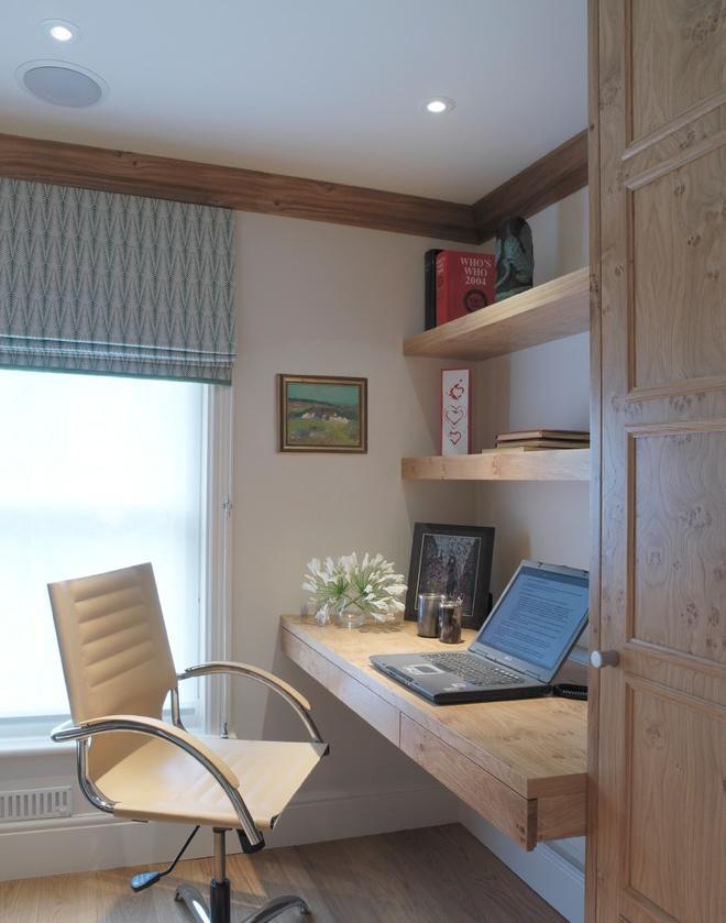 创意家庭书房设计,书柜 书桌的完美搭配