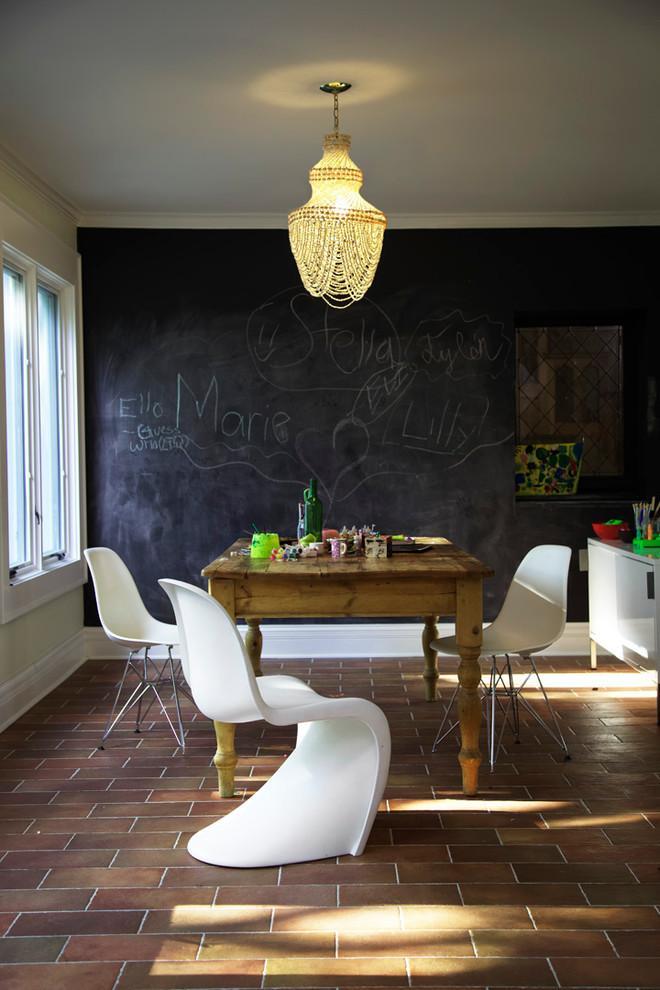 创意墙面装饰——70款黑板家居设计,想象力爆棚