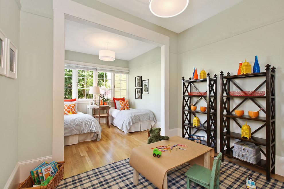 白色儿童房装修效果图大全2013图片