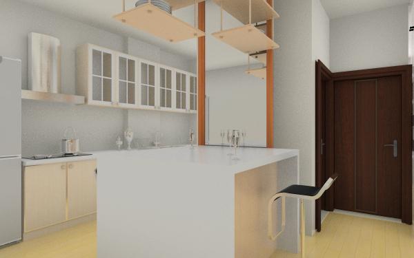 翠湖花园客厅,室内,厨房,卫生间等装修效果图大全