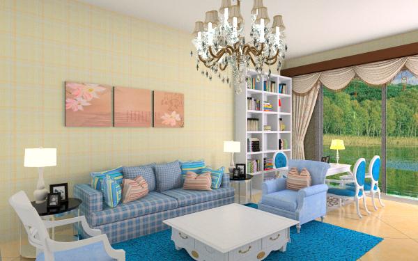 简欧小清新客厅,室内,厨房,卫生间等装修效果图大全