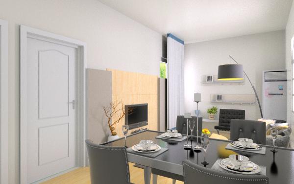 蜗居客厅,室内,厨房,卫生间等装修效果图大全
