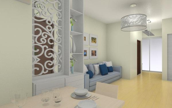 86-三房客厅,室内,厨房,卫生间等装修效果图大全