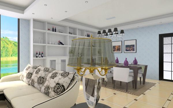 6㎡客厅,室内,厨房,卫生间等装修