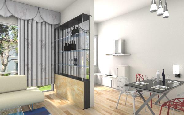复式一楼户型图客厅,室内,厨房,卫生间等装修效果图图片