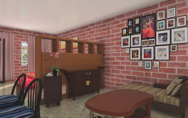 红砖墙装饰高清图片