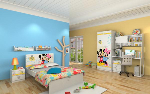 儿童房应该怎样搭配色彩?